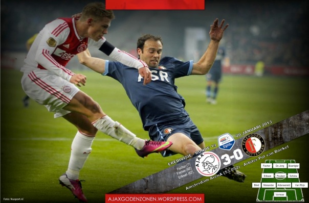 ERE- Ajax 3-0 Feyenoord