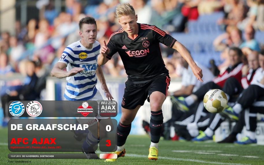 Voorseizoen Graafschap 0-3 Ajax