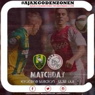 MATCHDAY Ado-Ajax